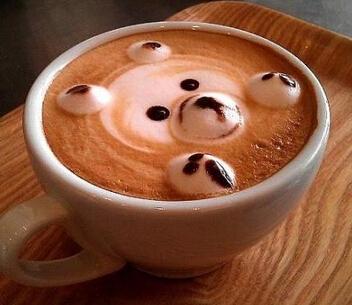 咖啡拉花步骤图解
