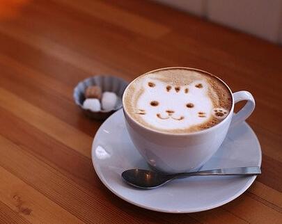 咖啡拉花制作的基本步骤