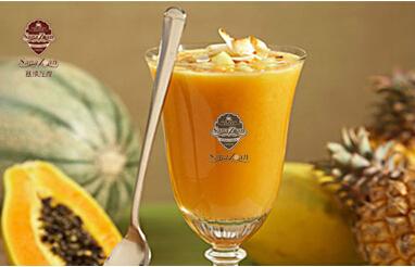 塞纳左岸木瓜冰沙-备孕期间能喝咖啡吗